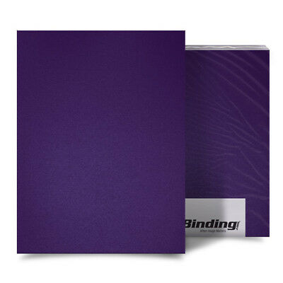 """New Purple 23mil Sand Poly 5.5"""" x 8.5"""" Binding Covers - 25pk - Free Shipping"""