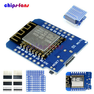 NodeMcu Lua ESP8266 ESP-12F D1 Mini WIFI CH340 Development Board Sensor Antenna