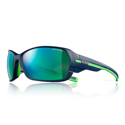 Julbo Unisex Dirt 2.0 Spectron 3 CF Sunglasses Green Navy Blue Sports Running