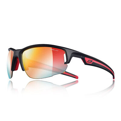 Julbo Unisex Venturi Zebra Light Fire Sunglasses Black Red Sports Running