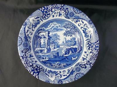 "Spode Blue Italian soup bowl 8.25""- unusual item - Made in England         s1017"