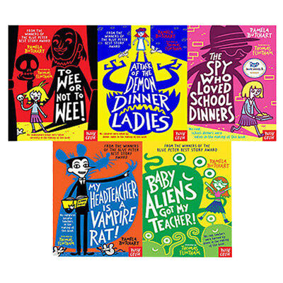 Spy who Loved School Dinners By Pamela Butchart 5 Book Collection Set NEW