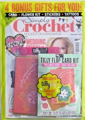 Simply Crochet Magazine Issue #70 - 2018 In Sealed Pack With Free Gifts ~ New ~
