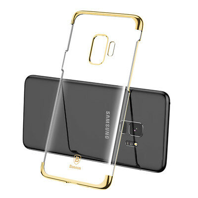 Baseus Luxury Glitter Case Back Cover Hard PC For Samsung Galaxy S9 S9 Plus