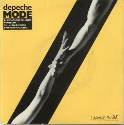 "Depeche Mode 7"" vinyl single record Blasphemous Rumours EP - EX UK 7BONG7E"