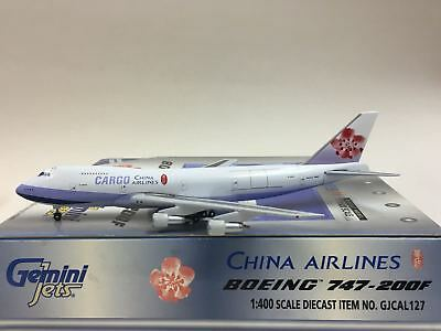 Gemini Jets 1:400 China Airlines Cargo BOEING B747-200F GJCAL127