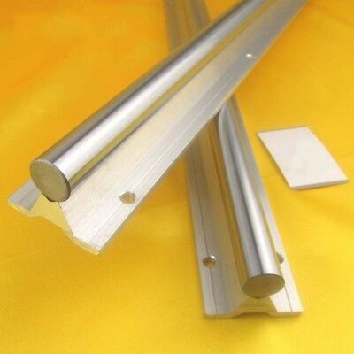 SBR12-30 Fully Supported Linear Rail Shaft Rod Linear Shaft Dia With Support