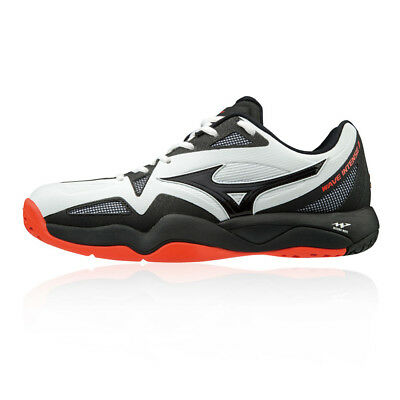 the best attitude eb0a2 e61ee Mizuno Hommes Wave Intense Tour 4 All Court Chaussures Tennis Baskets Blanc  Noir