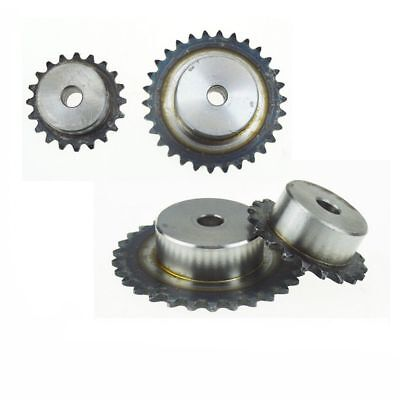 "#40 Chain Drive Sprocket Wheel 9T-40T Pitch 1/2"" For #40 08B Roller Chain"