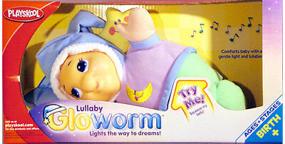 PLAYSKOOL CLASSIC Lullaby Gloworm - with lights & sounds *BRAND NEW*