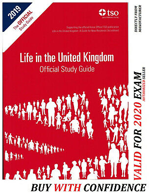 Life in the UK United Kingdom Official Study Guide 2019  STD