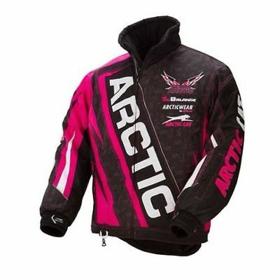Arctic Cat Youth Girls Team Jacket | 1 Orange | 2 Pink Left! | Blow Out!