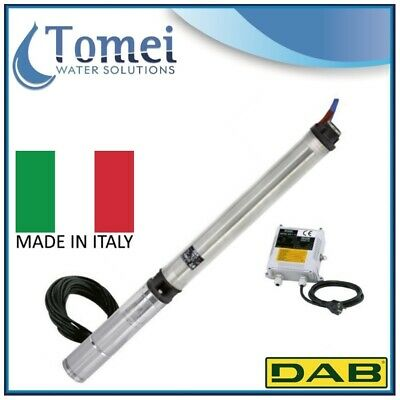 """DAB 4"""" Submersible Pump CS4 A 18-M 0,75KW 1X230V - 30 meters cable electric"""