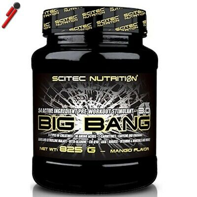 Scitec Nutrition, Big Bang 3.0, 825 g Pre Workout Creatina BCAA Beta Alanina