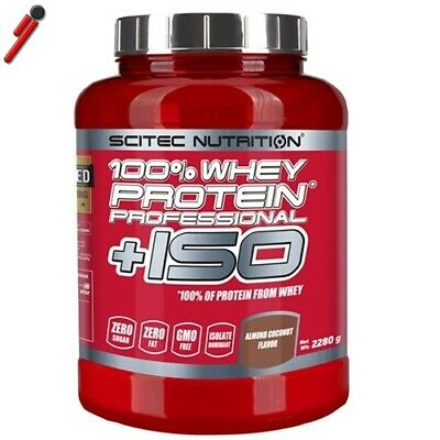 Scitec Nutrition 100% Whey Protein Professional + ISO 2280 g Proteine + Isolate