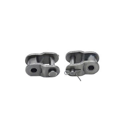 """#25 Roller Chain Connecting Link Half buckle For #25 1/4"""" Roller Chain x 10Pcs"""