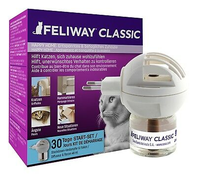(€48,73/100ml) Feliway ® Classic Startset (Verdampfer & Flakon 48 ml im Set)