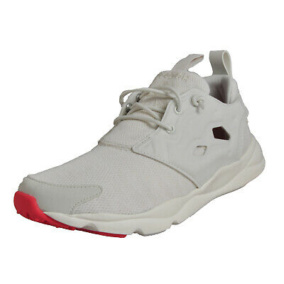 41c47355549 Reebok Classic FuryLite Sole Womens Running Shoes Gym Fitness Trainers White