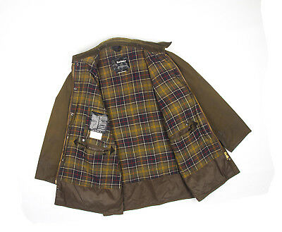 Barbour Classic Northumbria Wax Cotton Jacket C42/137cm 3XL-5XL Made in England