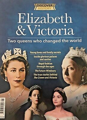Discover History Magazine 2018 Elizabeth Victoria 2 Queens Who Changed The World
