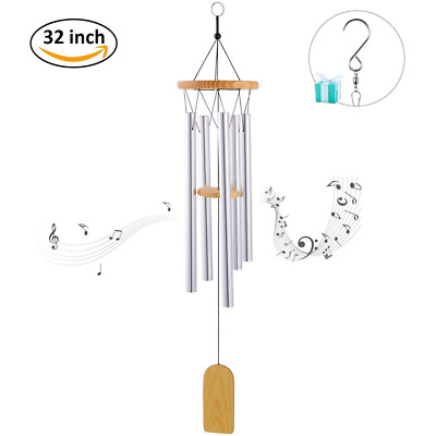 Wind Chime Metal Design Musical Windchime Sweet Sound Decor for Garden