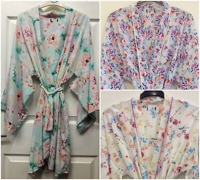 (s01)  WOMENS VARIOUS KIMONO DRESSING GOWN/ROBE UK SIZES 8/10, 10/12, 12/14