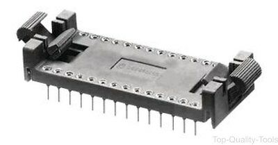 SOCKET IC, DIL, LOCK/EJECT, Part # 28-C182-10