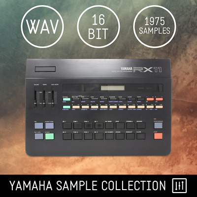 Yamaha Drum Machine Sample Collection - 1975 samples