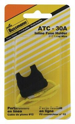 Buss In-Line Fuse Holder For Atc Fuses 24 A, 30 A 32 V Pack of 5