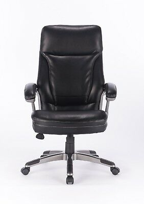 VinMax Big& Tall High Back Executive Chair Heavy duty PU Leather Office Chair