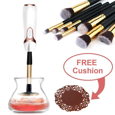 Makeup Brush Cleaner Spinner Automatic Make up Cleaning Tool for All Size Brush