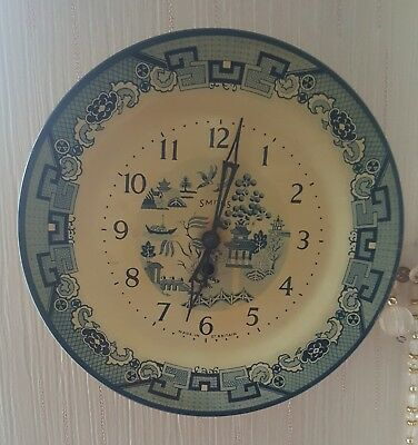 vintage smiths wall clock in good working condition