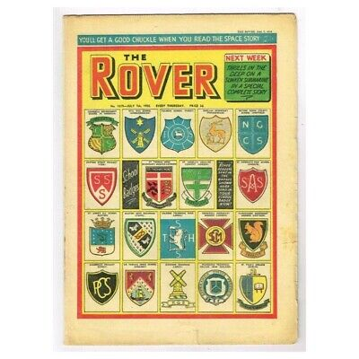The Rover Comic July 7 1956 MBox1296  No.1619 You'll get a good chuckle when you