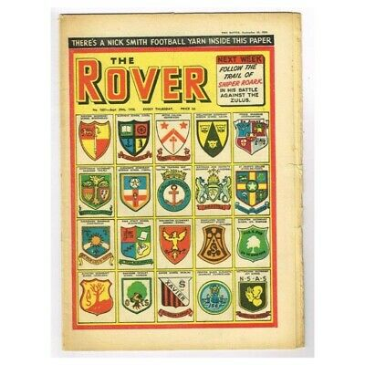 The Rover Comic September 29 1956 MBox1296  No.1631 There's a Nick Smith footbal