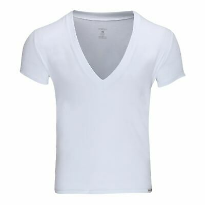 Doreanse Men's 2850 Deep V Neck Party T-Shirt