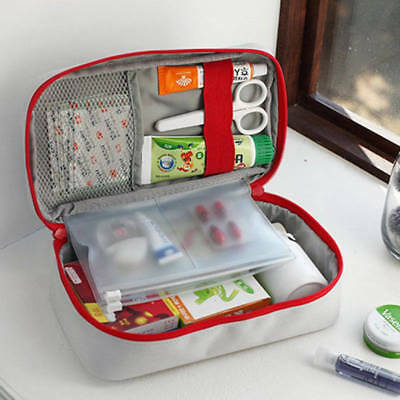 Medical Box First Aid Crossing Survival Storage Bag Portable For Emergency 3443