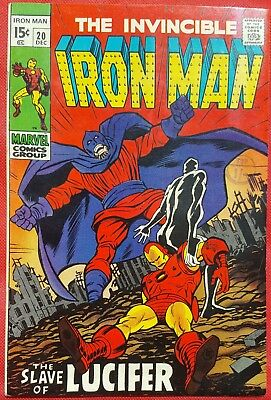 IRONMAN 20 MARVEL SILVER AGE 1969 Lucifer appearance