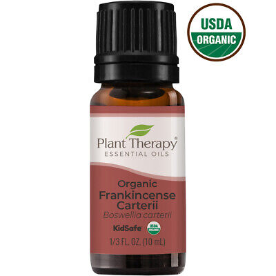 Plant Therapy Frankincense Carteri Organic Essential Oil | 100% Pure, Undiluted