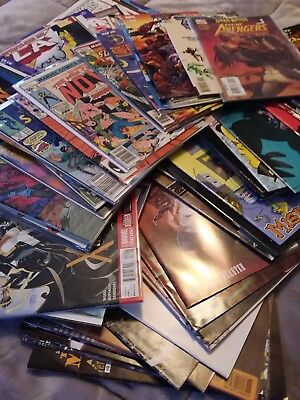 10 random comic books in near mint to mint condition from 1980s to 2000s