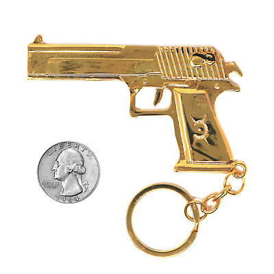 FadeCase CSGO 18k Gold Keychain Collector's Model Desert Eagle Counter Strike