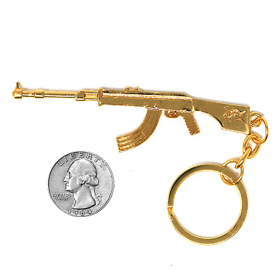 FadeCase CSGO 18k Gold Keychain Collector's Model AK47 Counter Strike
