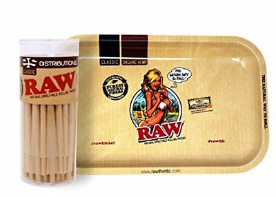 RAW Classic 98 Special Cones (50 Pack) with RAW Girl Small Tray