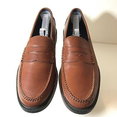 0c0f515373d Cole Haan Mens Penny Loafers Classic Pinch Maine Brown Leather 11M Grand OS