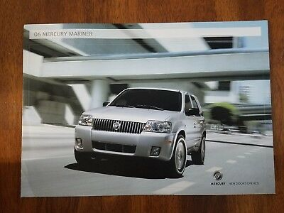 2006 Mercury Mariner brochure