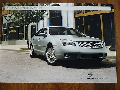 2006 Mercury Milan brochure
