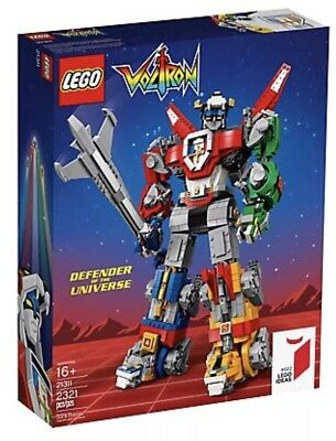LEGO Voltron - 21311 - Ideas Set BRAND NEW FACTORY SEALED