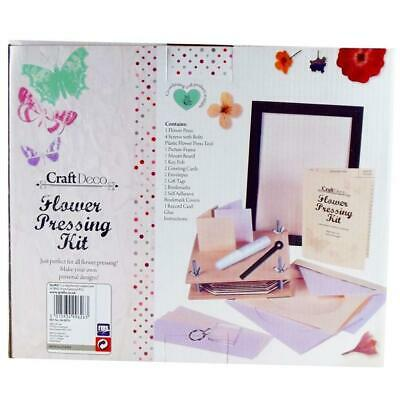 Grafix Craft Deco Flower Pressing Kit with Frame