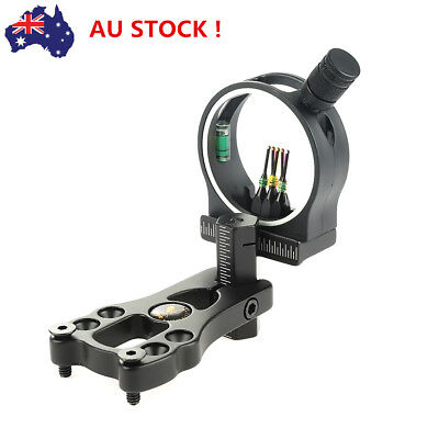 Archery hunting bow sight for compound bow 5 pins bow sight Hunters aluminium TY