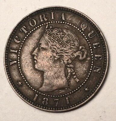 1871 - Canada - Prince Edward Island - 1 Cent - LOW RESERVE!