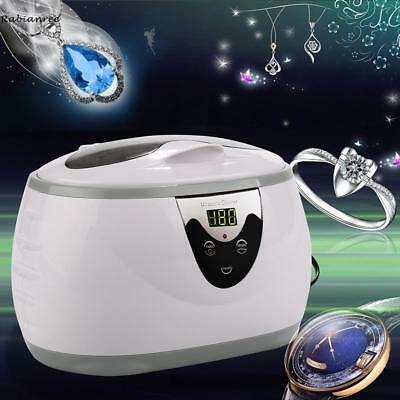 Ultraschall Reiniger Reinigungsgerät Schmuck 600ml 5 Digital Ultrasonic Cleaner